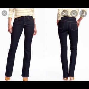 🎊5/25.00 OLD NAVY CURVY BOOT-CUT JEANS